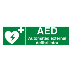 AED - Automated External Defibrillator - Landscape