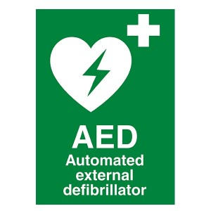 AED - Automated External Defibrillator - Portrait