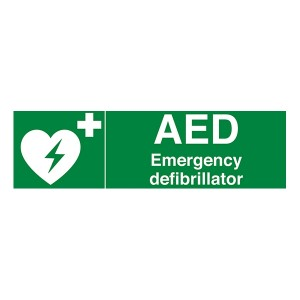 AED - Emergency Defibrillator - Landscape