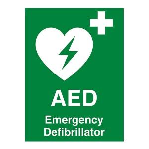 AED - Emergency Defibrillator - Portrait