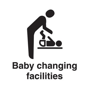 Baby Changing Facilities - Square