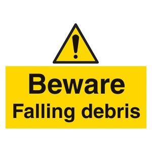 Beware Falling Debris - Landscape - Large