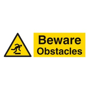 Beware Obstacles - Landscape