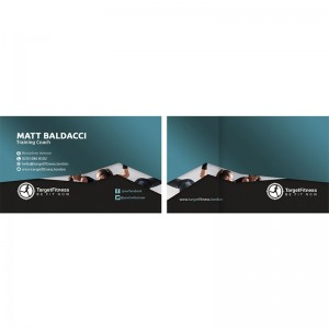 Premium Business Cards - Velvet Finish