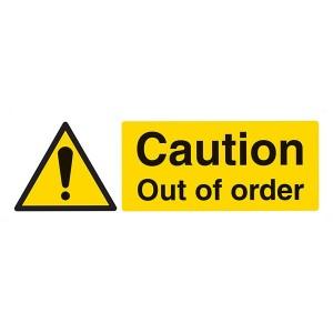 Caution Out Of Order - Landscape