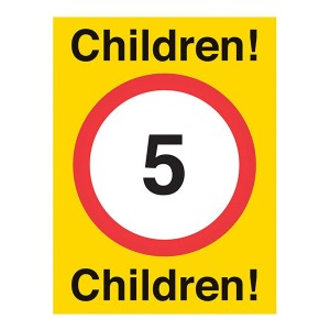 Children 5mph - Portrait