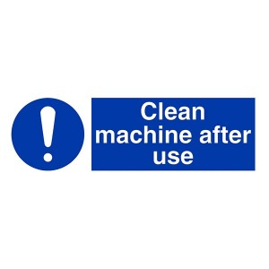 Clean Machine After Use - Landscape
