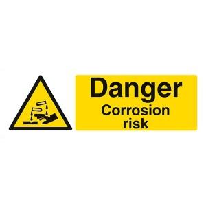 Danger Corrosion Risk - Landscape