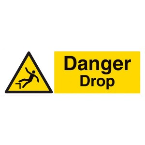 Danger Drop - Landscape