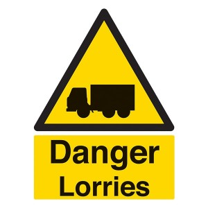Danger Lorries - Portrait