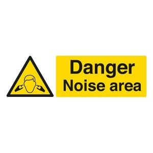 Danger Noise Area - Landscape