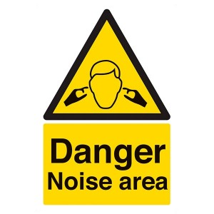 Danger Noise Area - Portrait
