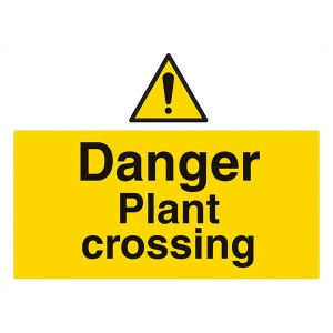 Danger Plant Crossing - Landscape - Large
