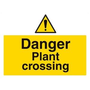 Danger Plant Crossing - Landscape - Large
