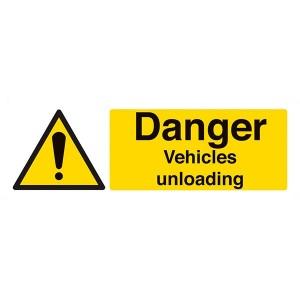 Danger Vehicles Unloading - Landscape