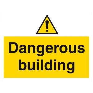 Dangerous Building - Landscape - Large