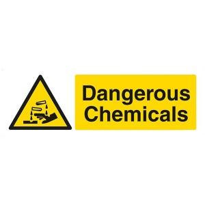 Dangerous Chemicals / Corrosive - Landscape