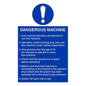 Dangerous Machine Instructions - Portrait