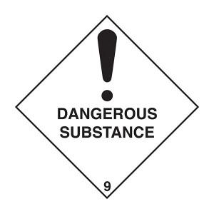 Dangerous Substance - Diamond - Square