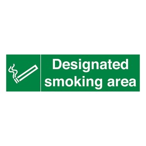 Designated Smoking Area - Landscape