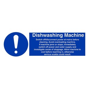 Dishwashing Machine Instructions - Landscape