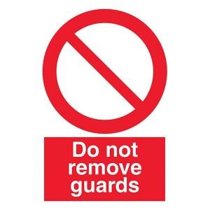 Do Not Remove Guards - Portrait