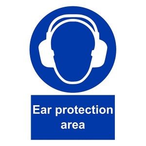 Ear Protection Area - Portrait