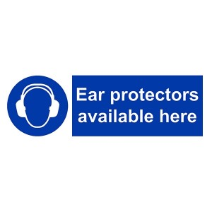 Ear Protectors Available Here - Landscape