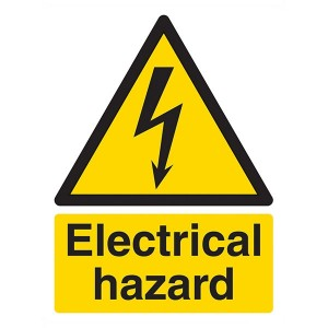 Electrical Hazard - Portrait