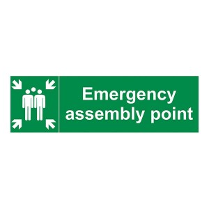 Emergency Assembly Point Family - Landscape