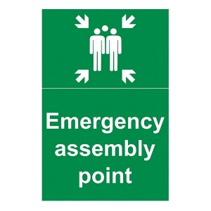 Emergency Assembly Point - With Family - Portrait