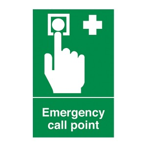 Emergency Call Point - Portrait