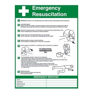 Emergency Resuscitation - Portrait