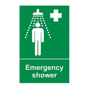Emergency Shower - Portrait