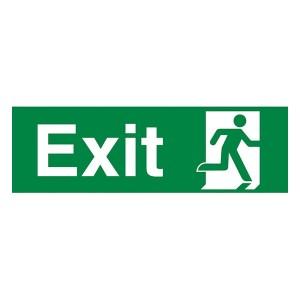 Exit Running Man Right - Landscape