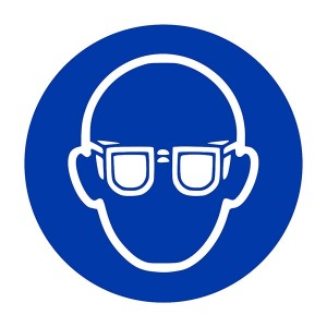 Eye Protection Symbol - Square