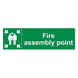 Fire Assembly Point - Landscape