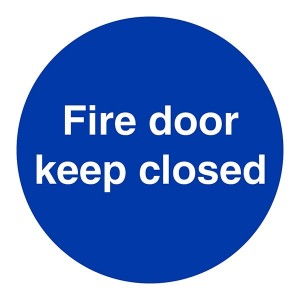 Fire Door Keep Closed - Square
