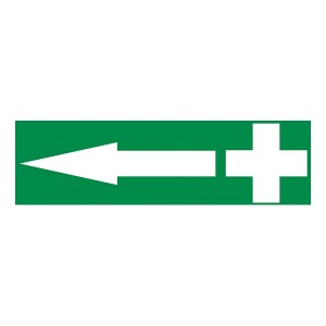First Aid Arrow Left - Landscape