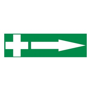 First Aid Arrow Right - Landscape