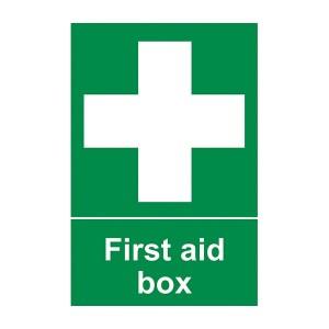 First Aid Box - Portrait