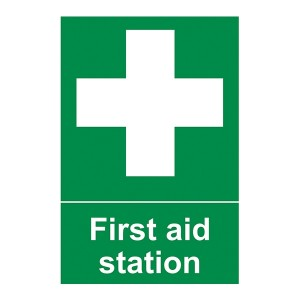 First Aid Station - Portrait