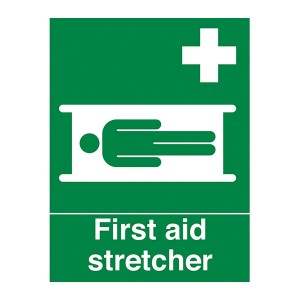 First Aid Stretcher - Portrait
