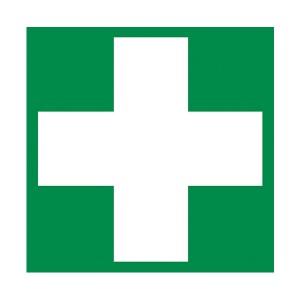 First Aid Symbol - Square