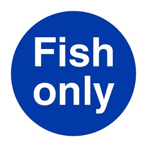 Fish Only - Square