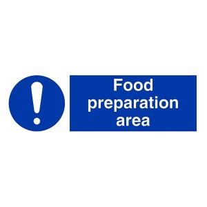Food Preparation Area - Landscape