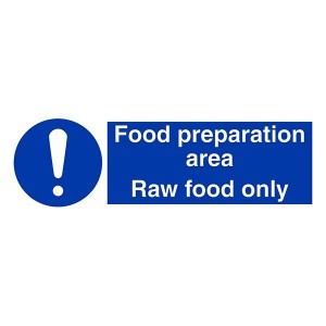Food Preparation Area - Raw Food Only - Landscape