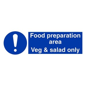 Food Preparation Area - Veg And Salad Only - Landscape