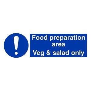 Food Preparation Area - Veg And Salad Only - Landscape