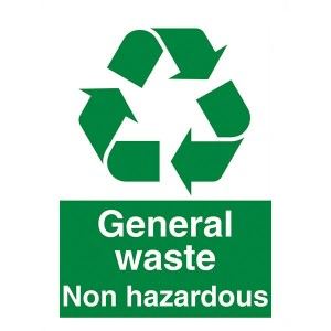 General Waste Non Hazardous - Portrait